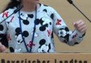 Die musische Klasse 6f auf Exkursion in den Bayerischen Landtag