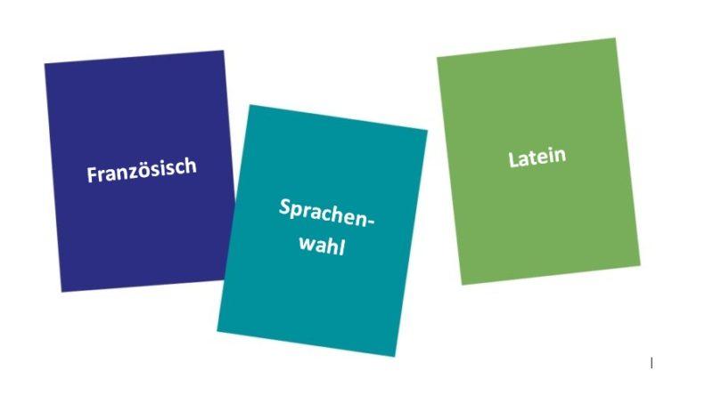 Informationen zur Wahl der zweiten Fremdsprache