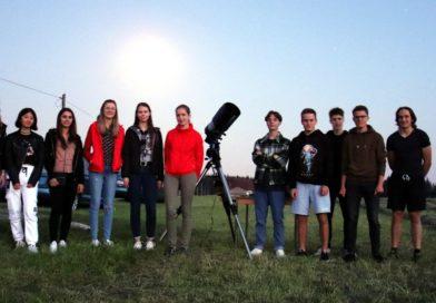 Endlich wieder ein Beobachtungsabend mit dem Schulteleskop!