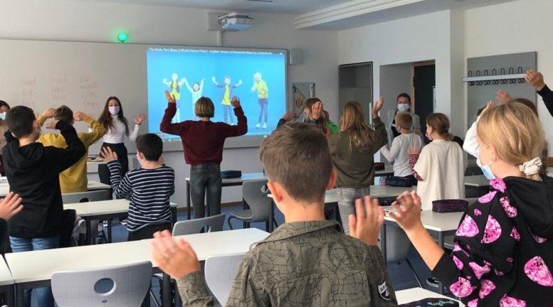 Aktion des P-Seminars im Fach Englisch