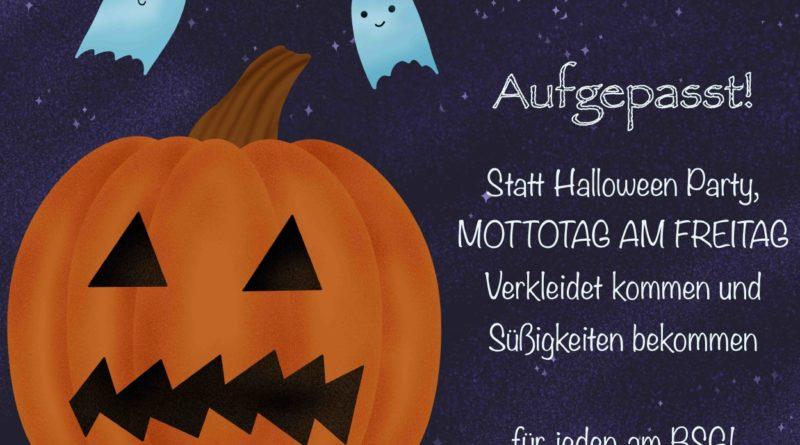 Halloween-Mottotag am BSG